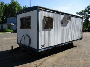 1987 Commercial Structure 20' Office Trailer