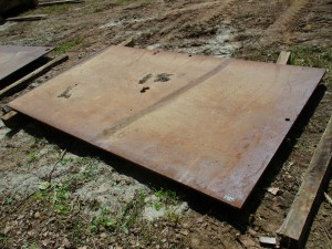 10' x 6' Steel Road Plate