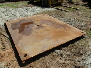 10' x 8' Steel Road Plate