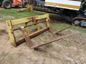 """Balderson 60"""" Wheel Loader Forks"""
