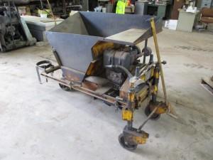 Miller Curbuilder Curb Machine