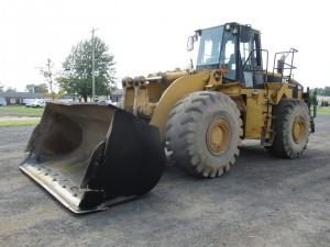 1998 Caterpillar 980G Rubber Tire Wheel Loader